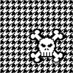 Houndstooth & Skull