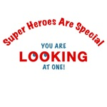 SUPER HEROES ARE SPECIAL - WOMEN'S T-SHIRTS