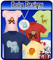 Baby design t-shirts & gifts