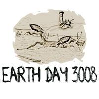Earth Day future shirts-Earth Day meltdown theme