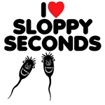 Rude Tee Shirts sloppy seconds theme