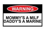 MILF Shirts for USMC Babies and Kids