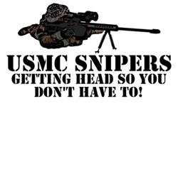 Cool sniper shirt-cool USMC sniper theme