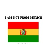 bolivia I am not from