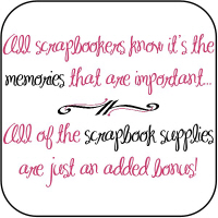 Memories vs Scrapbook Supplies