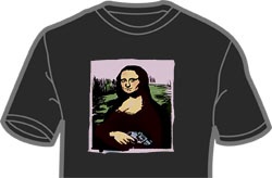 Mona Lisa with a Gun