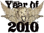 Year of 2010 Winged Lion