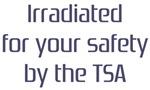 Irradiated by the TSA