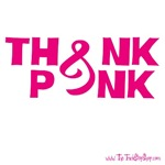 Think Pink Ribbon Design (light)