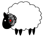 Cyborg Sheep Shirt