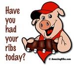Had ribs today?