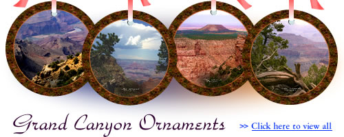 Grand Canyon Ornaments