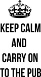 Keep calm carry on parody