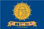 Flag of Georgia (2001–2003)
