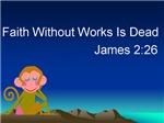 Blue Monkey Faith Without Works