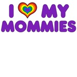GLBT Mothers' Day: I Love My Mommies Purple