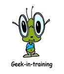 Geek-in-training t-shirts & gifts