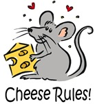 Cheese Rules t-shirts & gifts