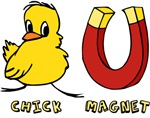 Chick Magnet t-shirts & gifts