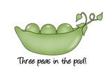 Three Peas in the Pod
