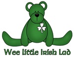 Wee little Irish Lad t-shirts & gifts
