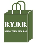 Eco-friendly canvas shopping bags
