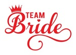 Team Bride red