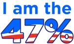 I am the 47% Obama Logo