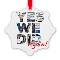 Barack Obama Holiday Ornaments