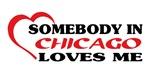 Somebody in Chicago loves me