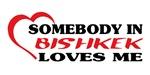 Somebody in Bishkek loves me