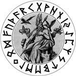 Odin Rune Shield