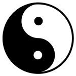 Yin-Yang Black and White