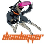 Discdogger disc logo wear