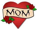 Mom tattoo t-shirts & gifts