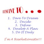 I Resolve To . . . Do's