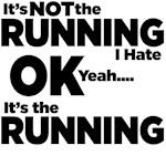It's The Running