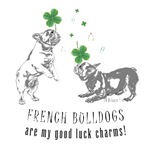 Frenchie Good Luck (GRAY)