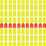 Yellow Panel Fence With Border