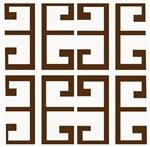 Brown Greek Tiles