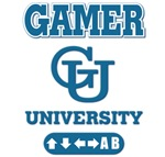 Gamer University t-shirts. The perfect gift for ga