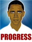 Obama Progress T-shirts, Posters and more.