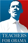 Teachers For Obama T-shirts.