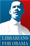 LIBRARIANS FOR OBAMA T-shirts.