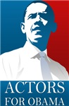 ACTORS FOR OBAMA T-shirts.