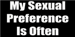 My Sexual Preference Is Often