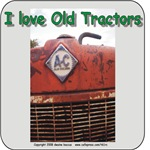 I love old Allis Chalmers tractors