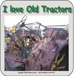 John Deere steel wheeled tractor