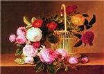 Johan Laurentz Jensen Basket of Roses