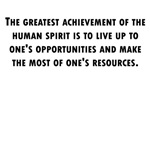 The Greatest Achievement